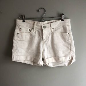 THE HAILEY Ex-boyfriend roll-up shorts